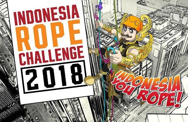 Indonesia Rope Challenge 2018, Kompetisi Rope Access Pertama di Indonesia