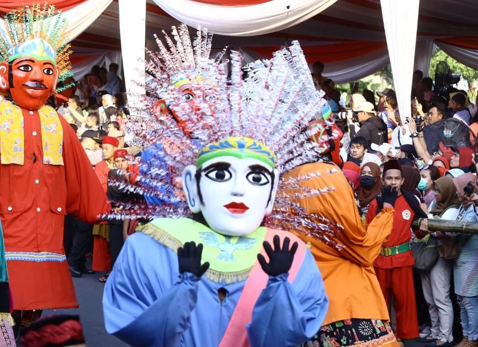 Jakarnaval Sambut HUT Jakarta ke-491 dan Asian Games 2018.