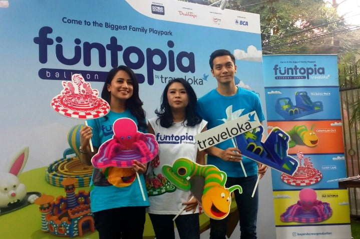 Traveloka Hadirkan Funtopia, Taman Balon Terbesar di Indonesia
