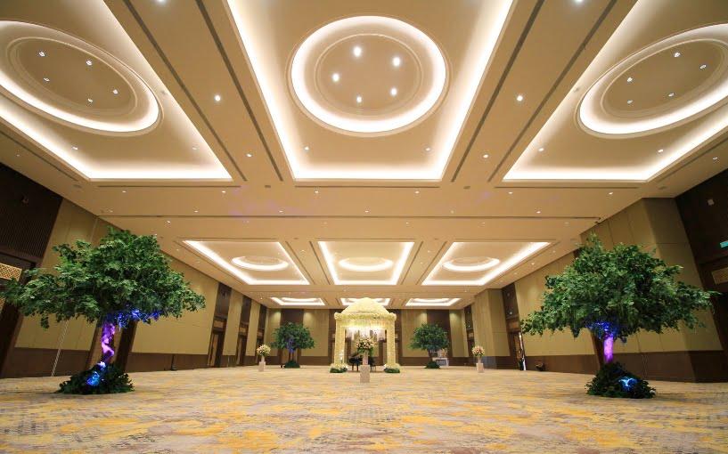 Golden Ballroom Terbaru dari The Sultan Hotel Berkapasitas 2000 orang
