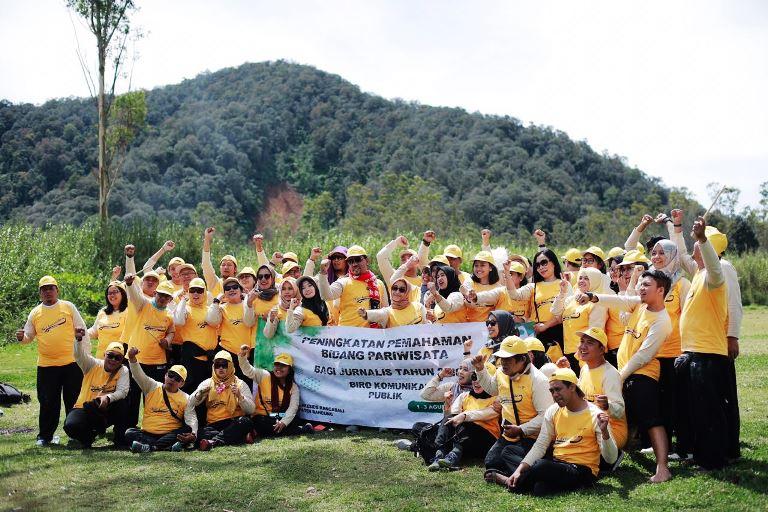 Outbound Jurnalis Kementerian Pariwisata Kenalkan Destinasi Digital dan Wisata Nomadik