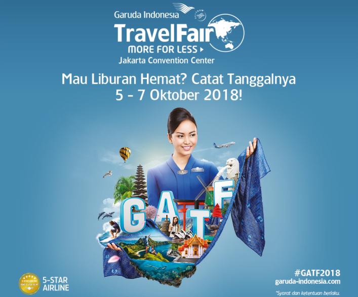 Garuda Indonesia dan Bank Mandiri Gelar GATF 2018 ke-2