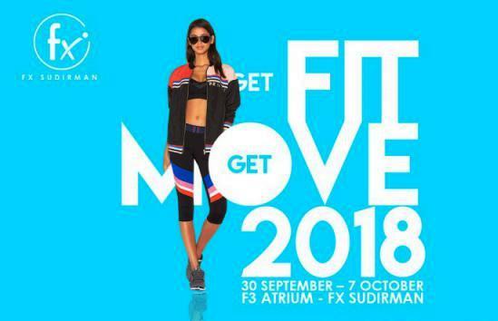 Get Fit Get Move, Kegiatan Gaya Hidup Sehat Dari FX Sudirman