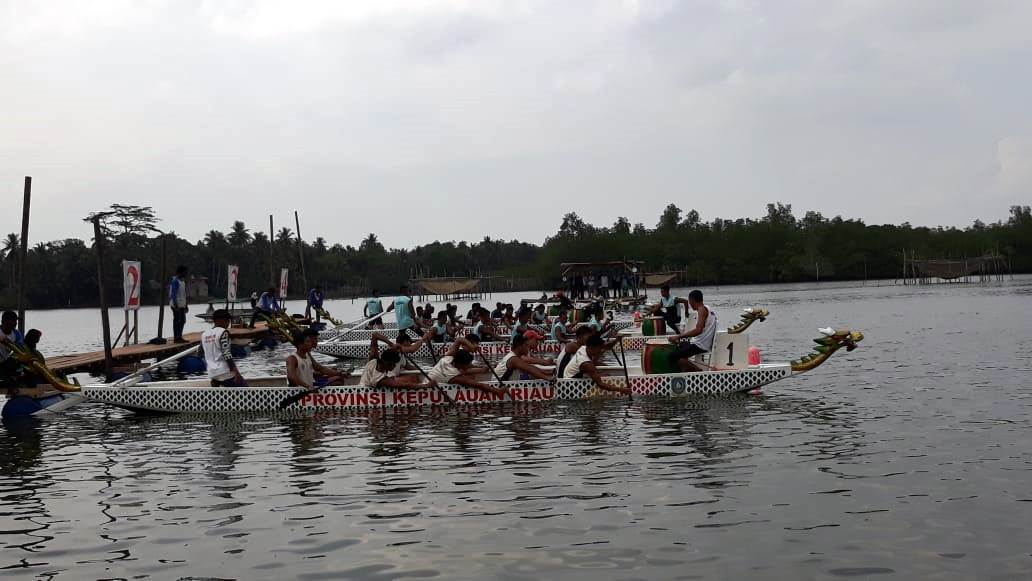 Tim Indonesia Pertahankan Gelar Juara pada International Dragon Boat Race 2018