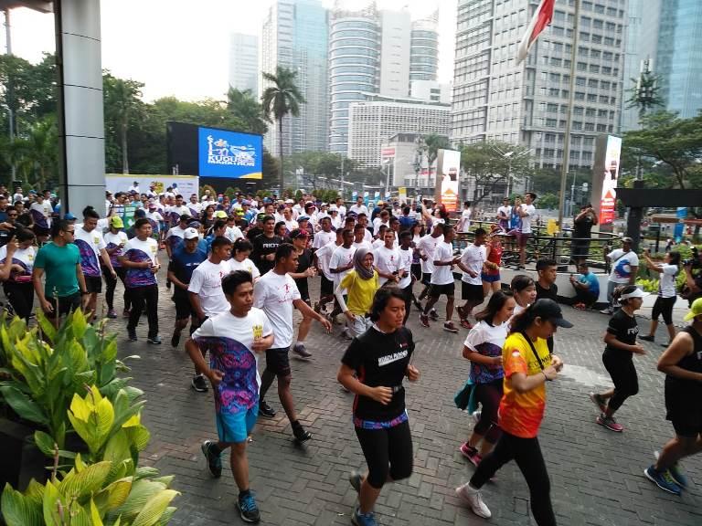 FX Sudirman Gelar Palu Charity Run
