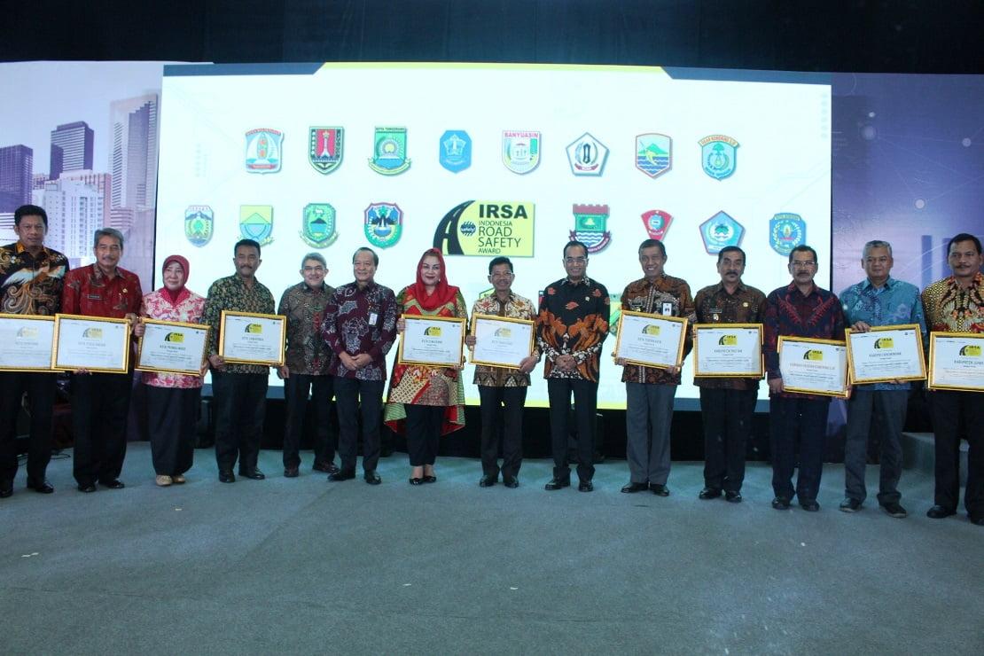 Indonesia Road Safety Award (IRSA) 2018, Surabaya Kota Paling Menjaga Keselamatan Jalannya