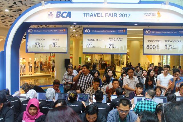 Singapore Airlines – BCA Travel Fair 2019 Tawarkan Paket Perjalanan Menarik