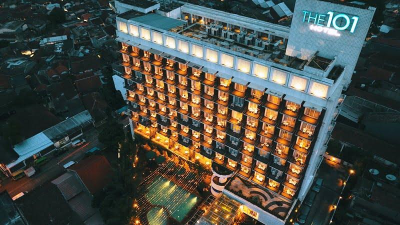 Ratusan Lampion menghiasi IMLEK & Cap Go Meh THE 1O1 Hotel Bogor Suryakancana