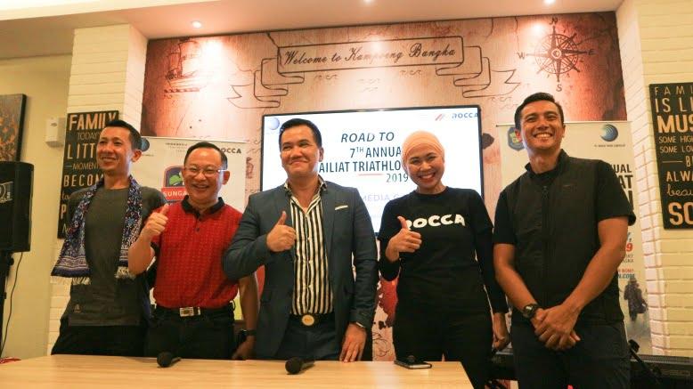 Launching ITS Road to Sungailiat Triathlon 6