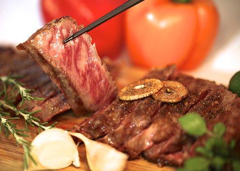 Beef steak beef house