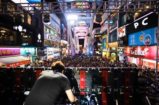 Ada Festival EDM di Daejeon  Korea Setiap Hari Sabtu