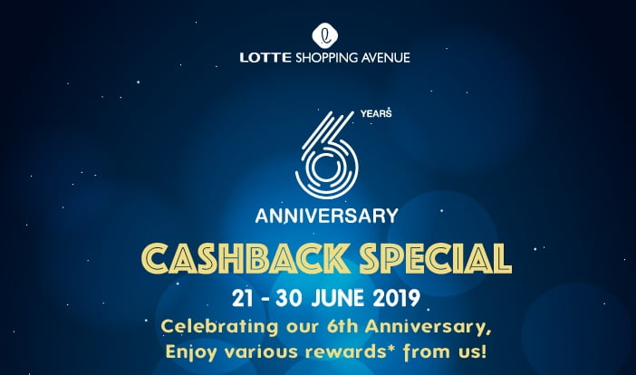 Lotte Shopping Avenue Rayakan HUT Keenamnya