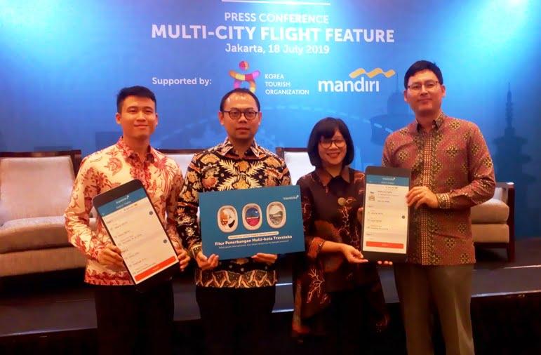 Kini Pesan Tiket Pesawat di Traveloka Bisa Multi Kota