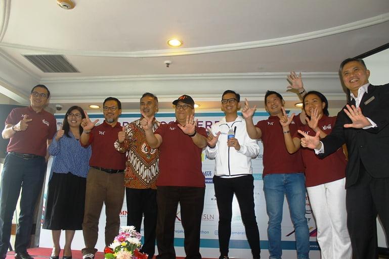 Electric Jakarta Marathon 2019 Membutuhkan Dukungan Warga Jakarta