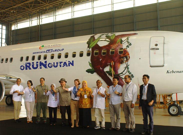 Sriwijaya Air Group – Bank Kalteng Gelar oRUNgutan Charity Fun Run
