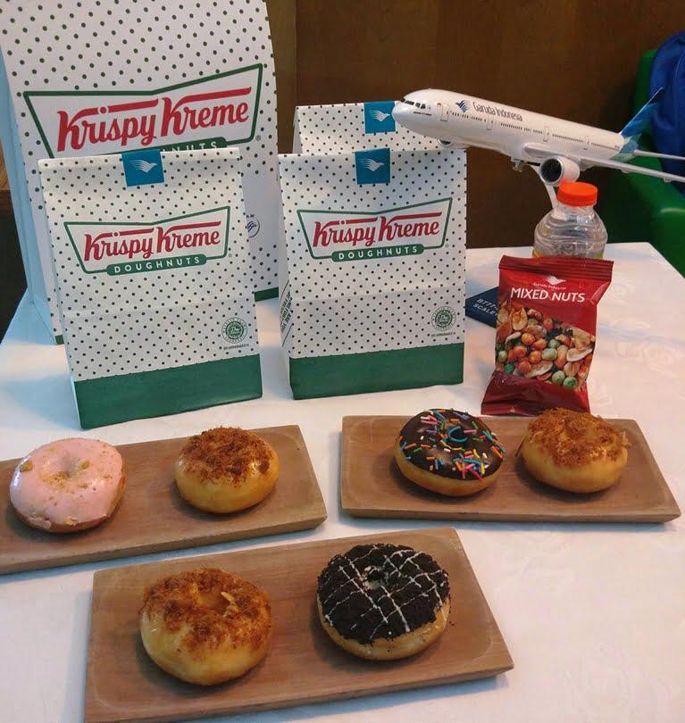 Varian Baru Krispy Kreme Doughnuts Telah Hadir di Sejumlah Rute Penerbangan Garuda Indonesia