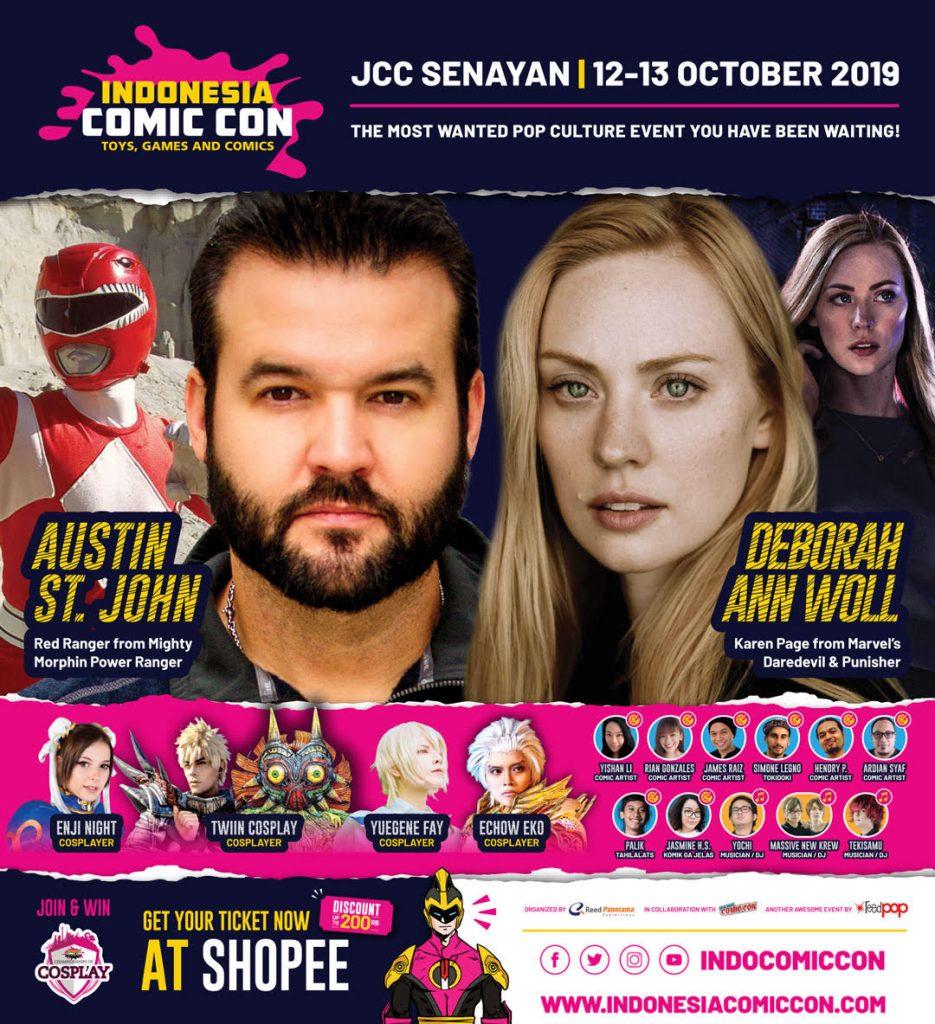 comiccon 2019