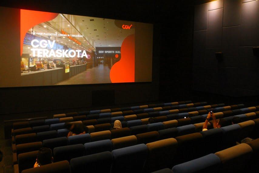 CGV Teraskota Reopening dengan Konsep Playactive Cinema