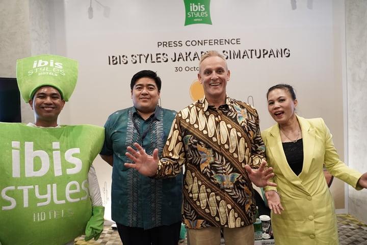 Press Conference ibis Styles Jakarta Simatupang