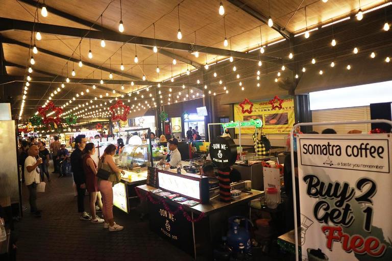 Kunjungi Pusat Kuliner Gading Festival di Sedayu City