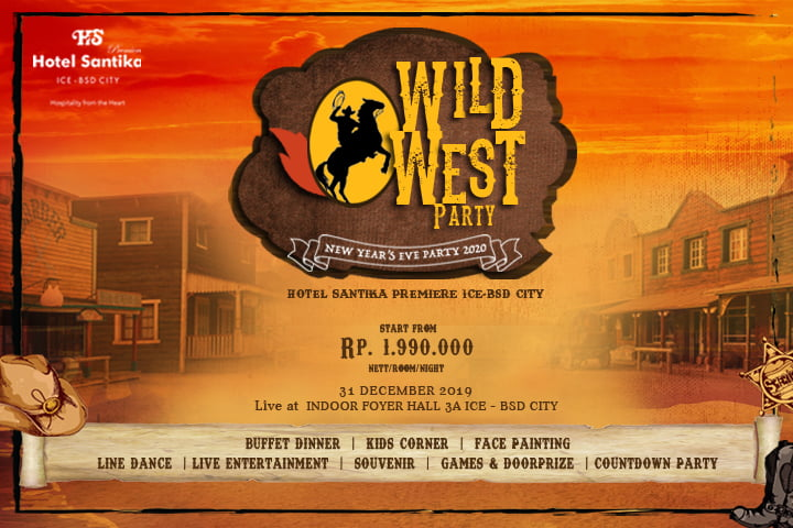 Pesta American Cowboy Hadir Di Hotel Santika Premiere ICE – BSD City