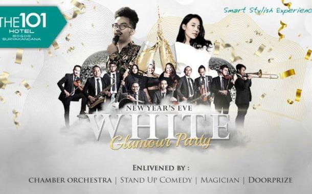 """THE 1O1 Bogor Hadirkan """"WHITE GLAMOUR PARTY"""" Sambut Tahun Baru 2020"""