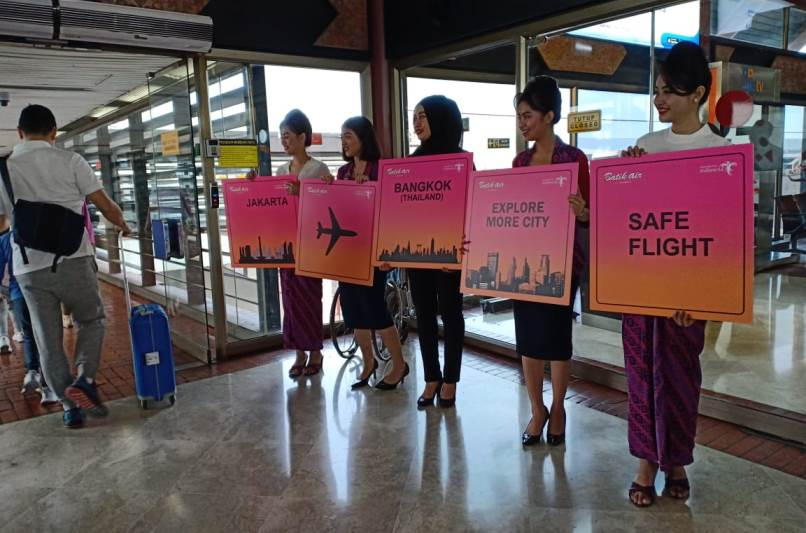 Batik Air Terbang Langsung Soekarno-Hatta ke Don Mueang Bangkok