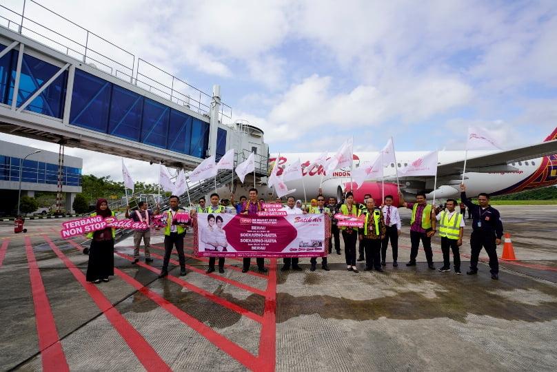 Batik Air Resmikan Rute Baru JAKARTA – BERAU
