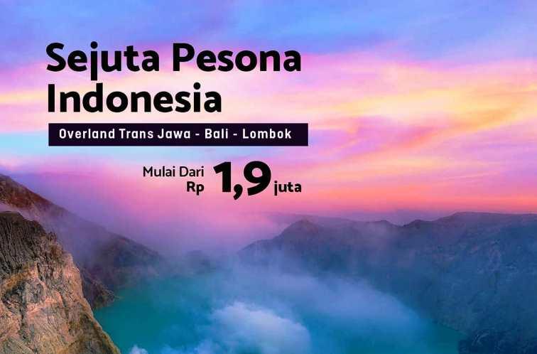 Gairahkan Pariwisata Indonesia, Panorama JTB Siapkan Paket Overland Jawa Bali Lombok