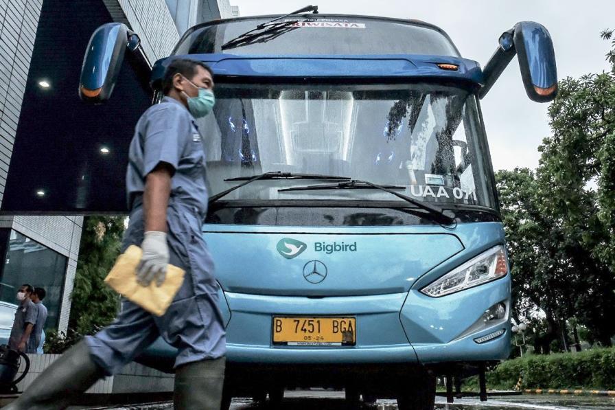 Wishnutama Ke Blue Bird Pastikan Kesiapan Transportasi Tenaga Medis