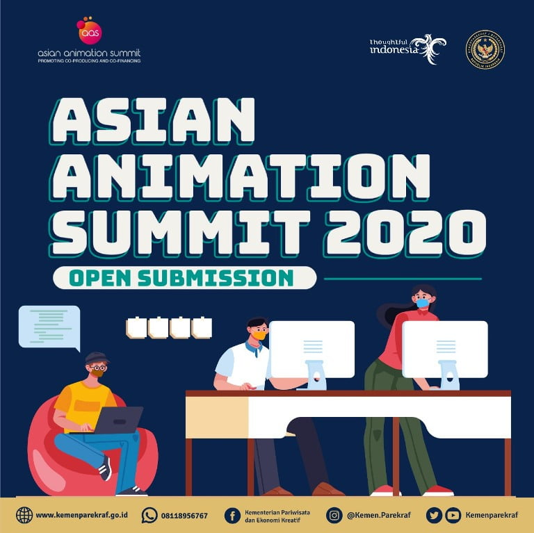 Asian Animation Summit 2020 Peluang Animator Indonesia Mengglobal