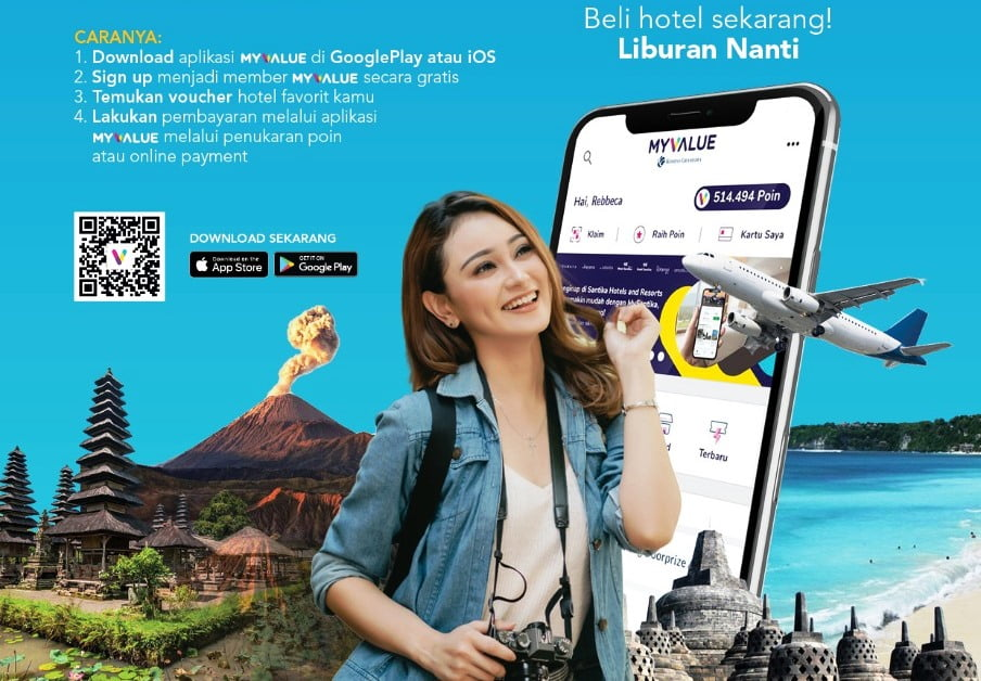 Santika Online Travel Fair Untuk Rencanakan Lburan