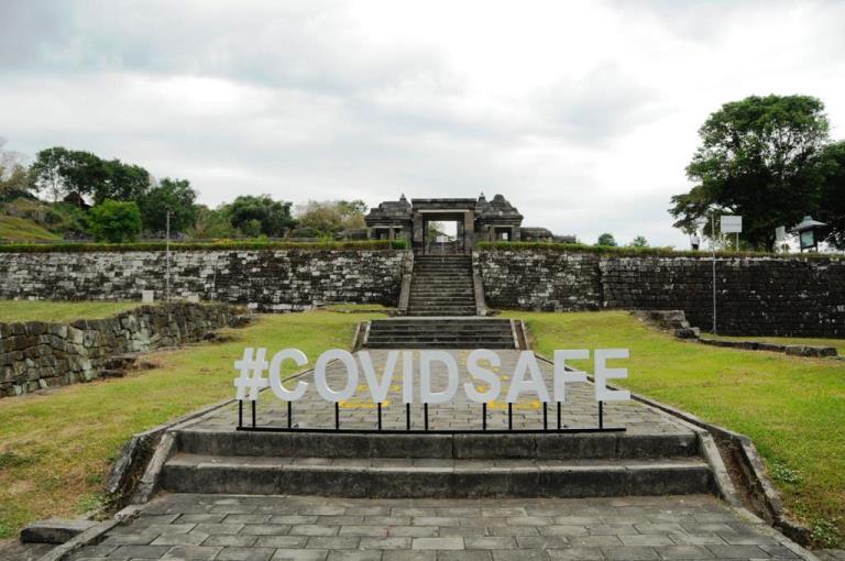 Normal Baru di Candi Borobudur dan Ratu Boko