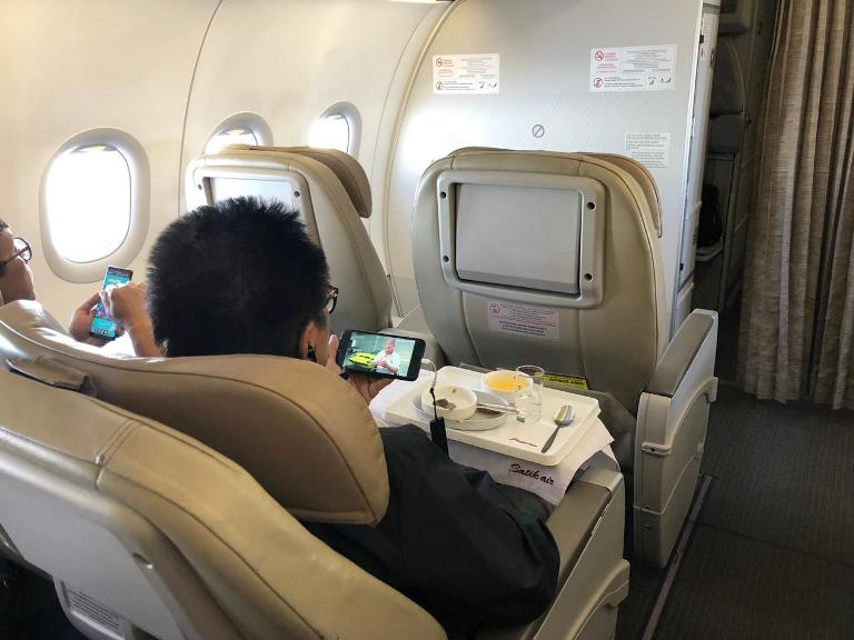 Wifi on Board Batik Air