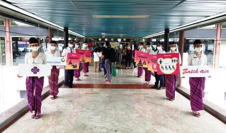 Safe Travel Campaign Angkasa Pura I dan II Perkuat Penerapan Protokol Kesehatan