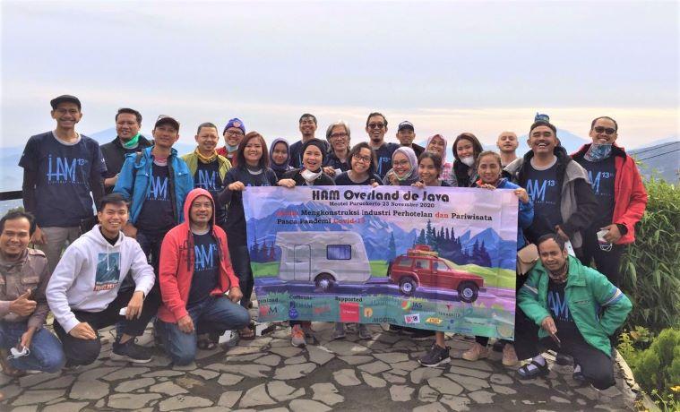 HAM Rayakan Usia Ketigabelas Dengan Overland de Java