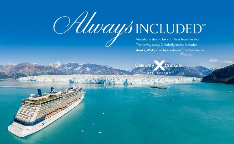 "Celebrity Cruises Luncurkan Branding Kemewahan Terbaru "" Always Included"""