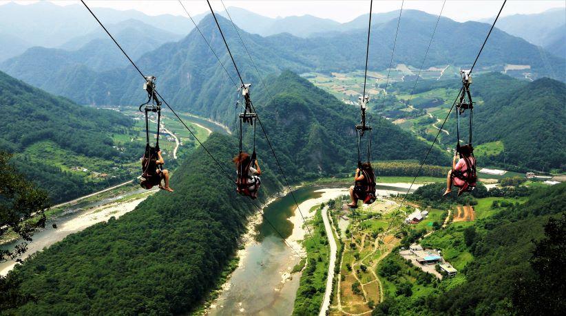 Gangwon Jeongseon Zip Line