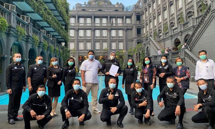 G.H. Universal Hotel Bandung  Raih Sertifikasi  CHSE (Cleanliness, Health, Safety, Environment)