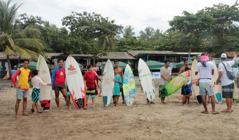 The Power of Eco Surfers Battle Ajang Mencari Bibit Peselancar  Asal Sukabumi