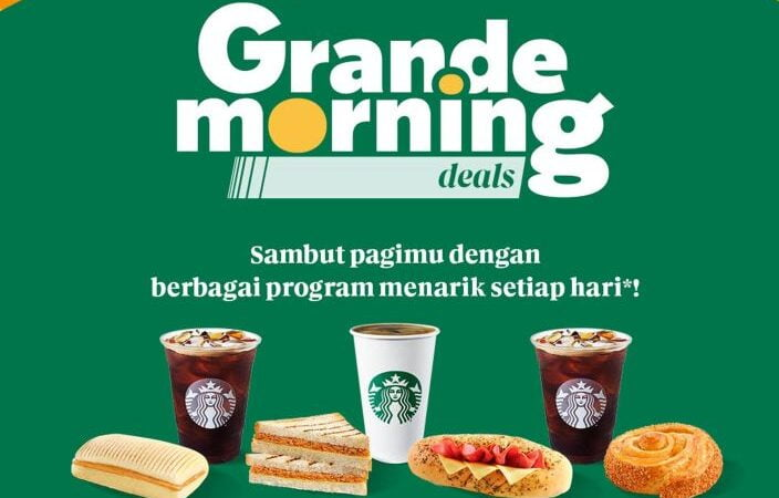 Starbucks Grande Morning