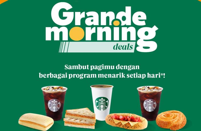 Starbucks Grande Morning