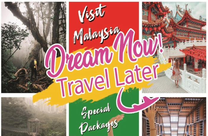 "Tourism Malaysia Luncurkan Paket Wisata ""Dream Now,Travel Later"""