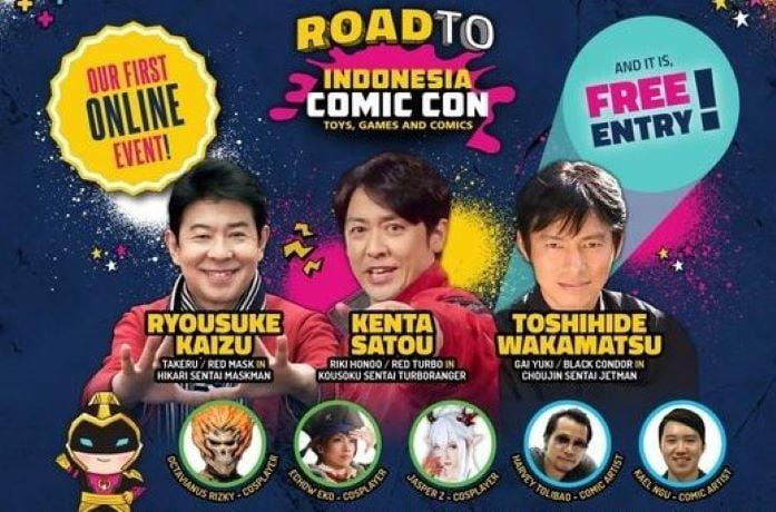 Panorama Siap Gelar Indonesia Comic Con 2021 Secara Virtual