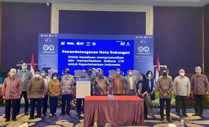 GeNose C19 Inovasi Indonesia untuk Pemulihan Pariwisata Indonesia
