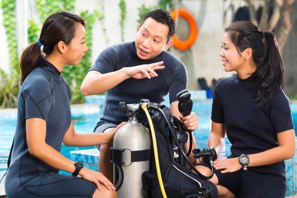 Belajar Menyelam Sambil Menginap di Mandarin Oriental Jakarta