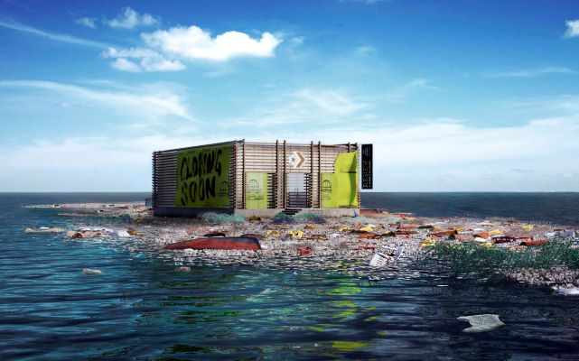 Converse All Stars Buka Gerai Virtual Di Atas Pulau Sampah