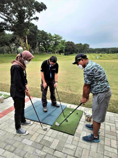 Coaching Clinic Golf Saat Jababeka Media Gathering Siap Jadi Sport City