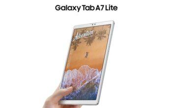 Galaxy Tab A7 Lite Silver1