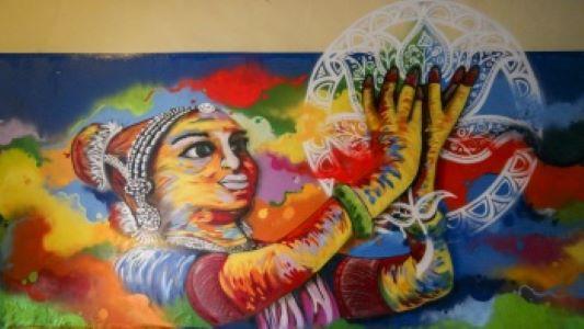 Mural Alive @Clive di Little India Dok. Visit Singapore